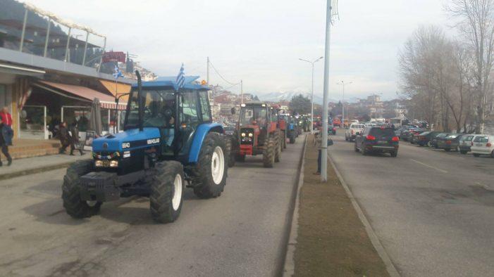 Στην εφορία οι αγρότες με τα τρακτέρ