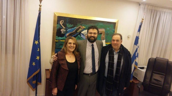 Συνάντηση Τελιγιορίδου – Κεπαπτσόγλου με τον υφυπουργό Αθλητισμού για τις αθλητικές εγκαταστάσεις του Άργους Ορεστικού