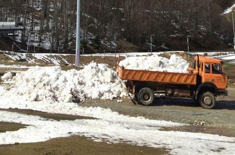 Χιονοδρομικό Βιτσίου: Μιας ώρας βροχή, κατέστρεψε τα πάντα