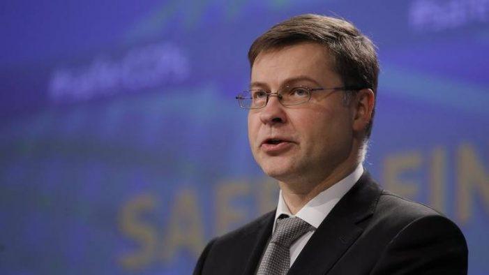 Βλ. Ντομπρόφσκις: Σε καλό δρόμο η Ελλάδα για να πετύχει τους δημοσιονομικούς της στόχους