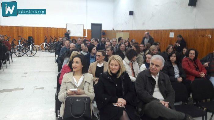 Ευχές Αδαμόπουλου και περιφερειακών συμβούλων στους εργαζομένους της Αντιπεριφέρειας Καστοριάς