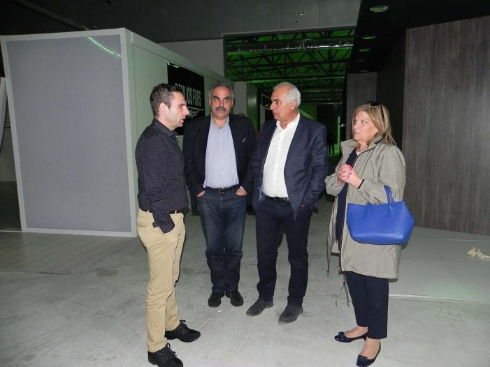 Εντυπωσιασμένοι οι εκπρόσωποι της ΔΕΘ – HELEXPO από το Εκθεσιακό Κέντρο Γούνας Δυτικής Μακεδονίας