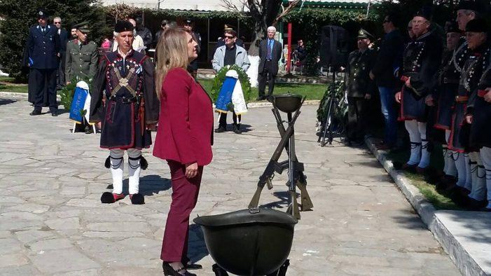Η Ο. Τελιγιορίδου για τον εορτασμό της 25ης Μαρτίου