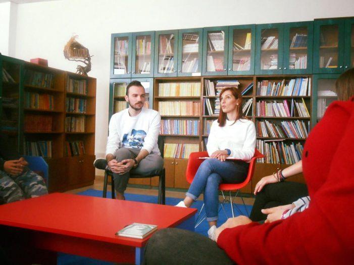 Το Κέντρο Συμβουλευτικής Γυναικών Καστοριάς στο 1ο δημοτικό σχολείο Καστοριάς