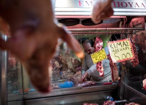 Μειώνεται η κατανάλωση κρέατος στη χώρα μας