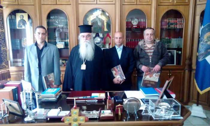 Η Ένωση Στρατιωτικών Περιφερειακής Ενότητας Καστοριάς σε συνάντηση με τον Μητροπολίτη Καστοριάς
