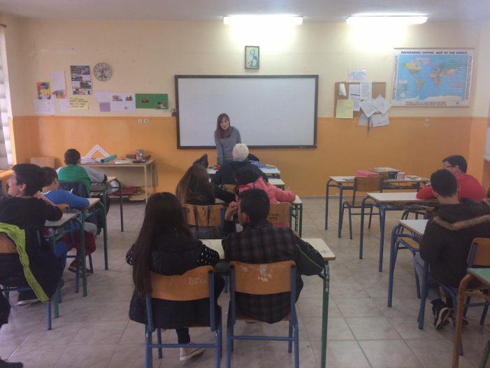 Το Κέντρο Συμβουλευτικής Γυναικών στο Γυμνάσιο Κορησού
