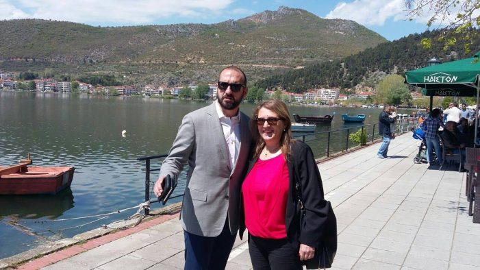 Ο Υπουργός Επικρατείας στην Καστοριά