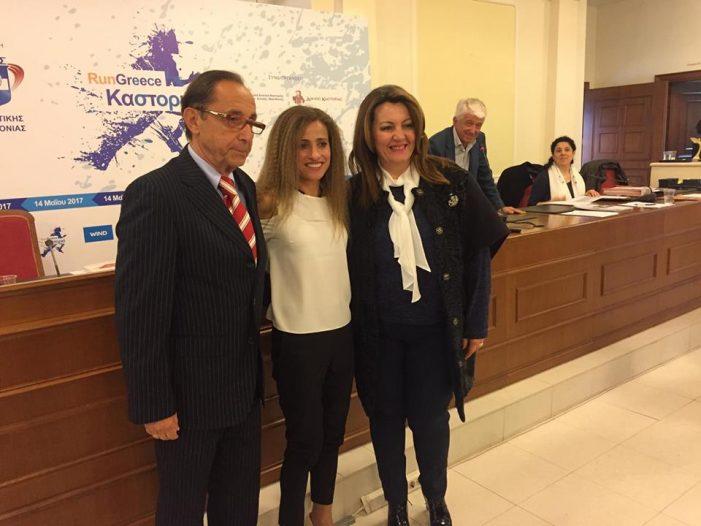 Στην ετήσια γιορτή βραβεύσεων του ΣΕΓΑΣ η Μαρία Αντωνίου