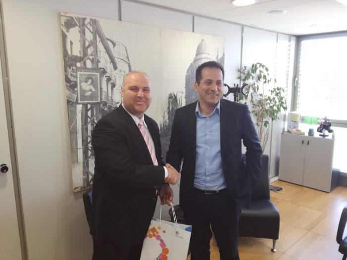 Ο Αντιδήμαρχος Τουρισμού Λάζαρος Ζήσης συναντήθηκε με τον Αντιδήμαρχο Τουριστικής Ανάπτυξης & Διεθνών Σχέσεων Δήμου Θεσσαλονίκης κ. Σπύρο Πέγκα