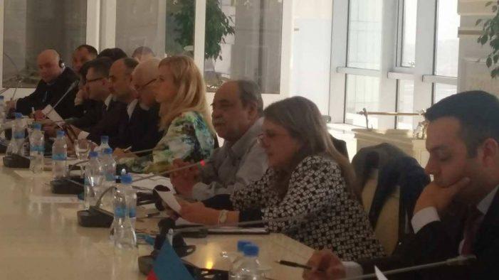 Στο Αζερμπαϊτζάν η Ολυμπία Τελιγιορίδου Εισηγήτρια από πλευράς της Ελλάδας στη Διακοινοβουλευτική Συνέλευση των Παρευξείνιων χωρών για θέματα υγείας