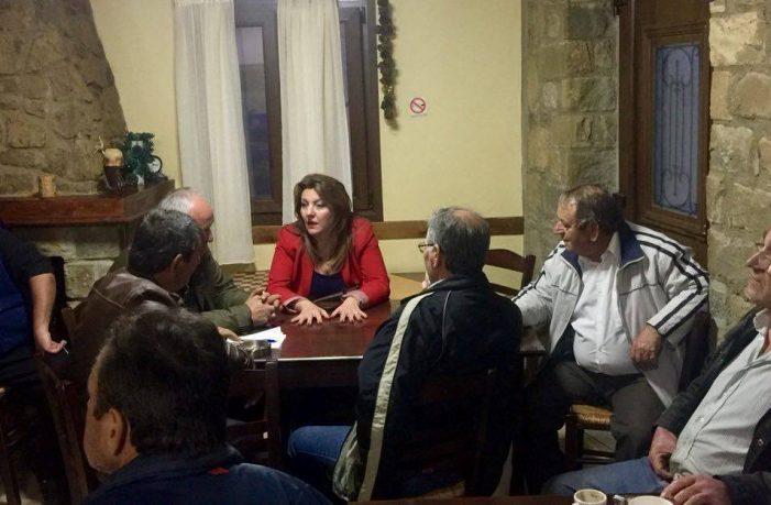 """""""Κοντά στους πολίτες των χωριών μας η Μαρία Αντωνίου"""""""