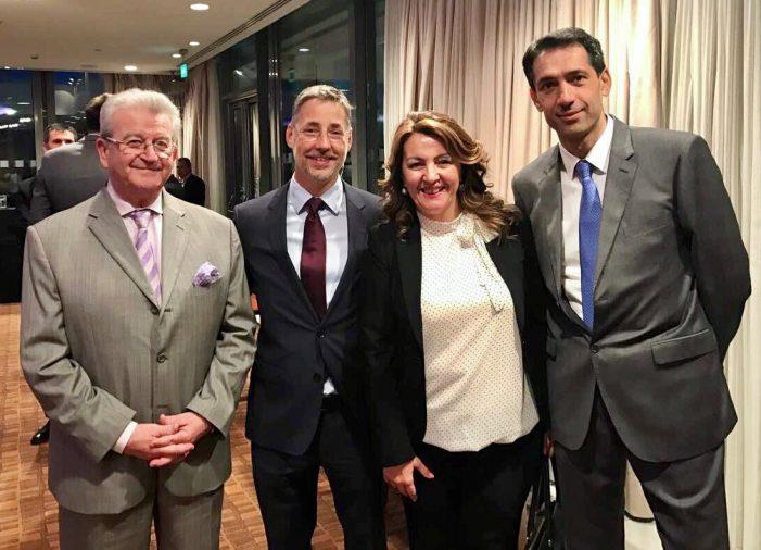 Στην εκδήλωση της Πρεσβείας του Αζερμπαϊτζάν παρευρέθηκε η Μαρία Αντωνίου