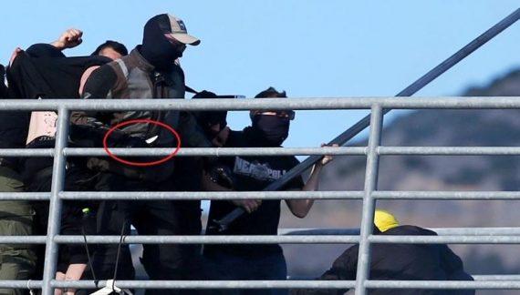 Σοκάρουν οι εικόνες του μαχαιροβγάλτη οπαδού του ΠΑΟΚ
