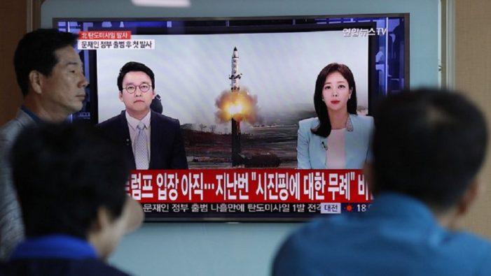 Νέο πύραυλο μεσαίας-μακράς ακτίνας δράσης εκτόξευσε η Β. Κορέα