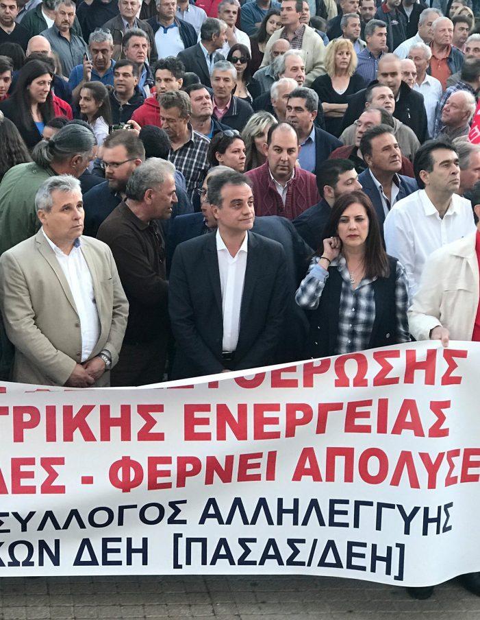 Θ. Καρυπίδης: Και η Μεγαλόπολη μίλησε : Δεν πουλάμε και δεν πουλιόμαστε