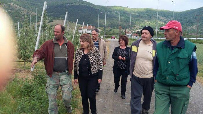 Στήριξη στους αγρότες που επλήγησαν από τον παγετό από την Ολυμπία Τελιγιορίδου