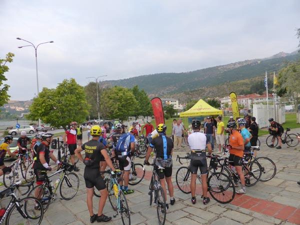 Καστοριά: Η Μαραθώνια Ποδηλατική Δραστηριότητα Για Πρώτη Φορά