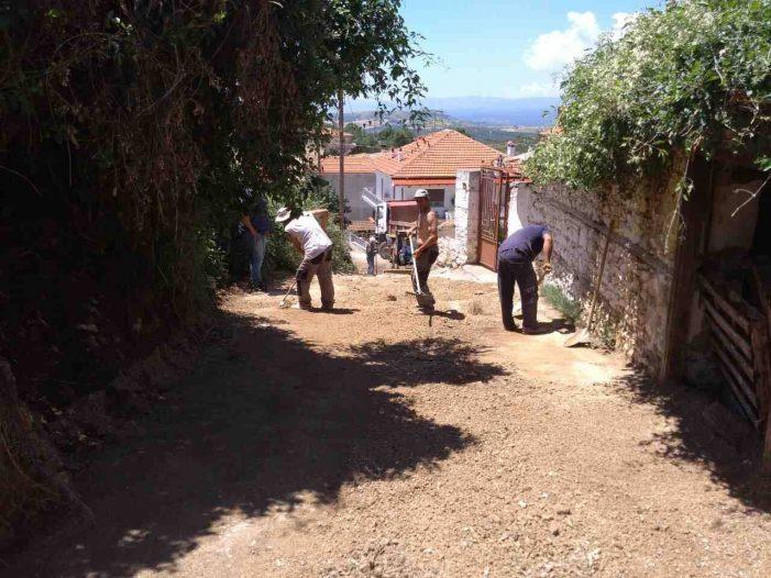 Βογατσικό: Αντικατάσταση παλαιού θολωτού αγωγού αποχέτευσης