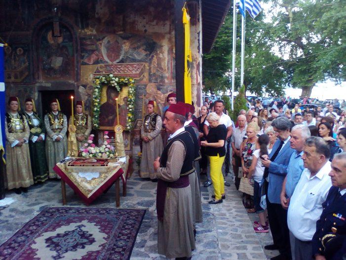 Παρουσία δημάρχου Καστοριάς στις λατρευτικές εκδηλώσεις της Ιεράς Μητρόπολης για τον Δεκαπενταύγουστο