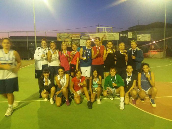 3on3 Tournament: Απονομή σε γυναικείες ομάδες