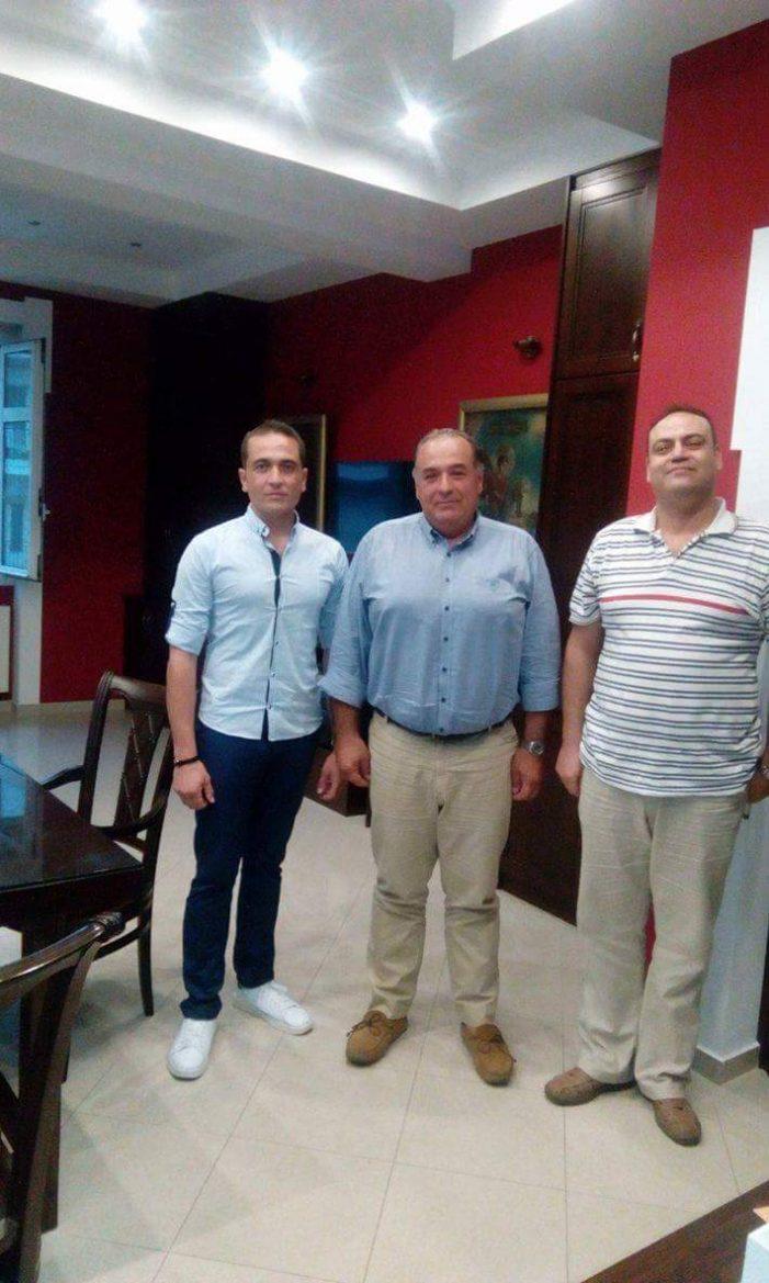 Συνάντηση της Ένωσης Στρατιωτικών ΠΕ Καστοριάς με τον Π. Κεπαπτσόγλου