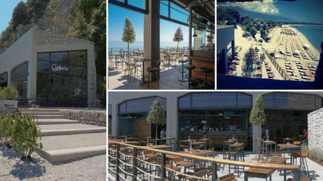 Έλληνας ξενοδόχος μετέτρεψε τούνελ 100 ετών στον Πλαταμώνα σε καφετέρια