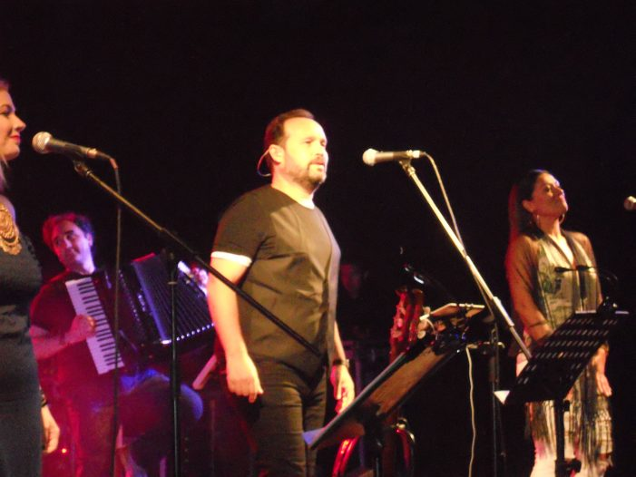 Ευχαριστήριο Λ. Ζήση για την συναυλία του Κ. Μακεδόνα