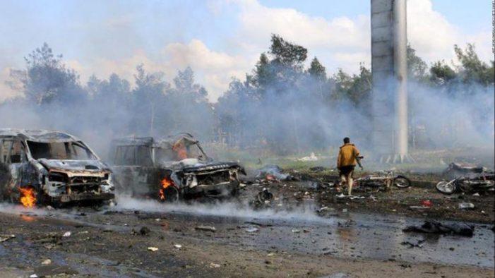 Συρία: Τουλάχιστον 27 άμαχοι νεκροί από ρωσικούς βομβαρδισμούς