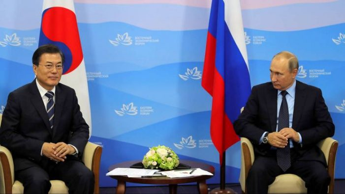 Στις διαπραγματεύσεις με την Β.Κορέα επιμένει ο Πούτιν – Πιθανή συνάντηση αντιπροσώπων των δύο χωρών