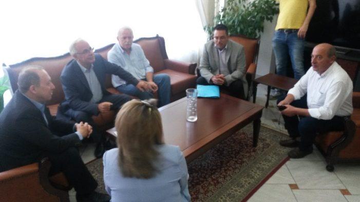 Συνάντηση του Αντιπεριφερειάρχη Καστοριάς με τον Υπουργό Αγροτικής Ανάπτυξης & Τροφίμων