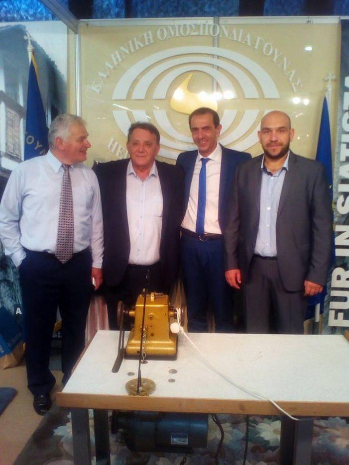 Ο Δήμαρχος Καστοριάς και οι Αντιδήμαρχοι στην ΔΕΘ