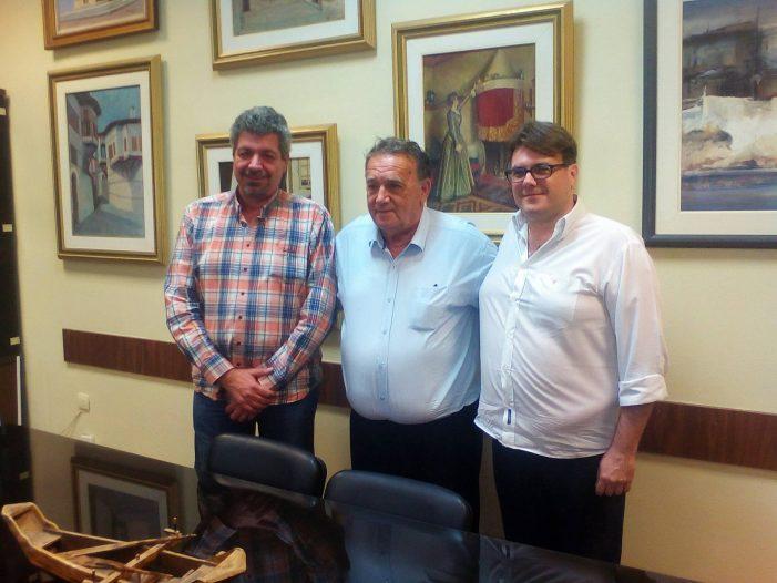 «Συνάντηση Δημάρχου Καστοριάς με τον γενικό Διευθυντή Δ.Ε.Π.ΑΝ»
