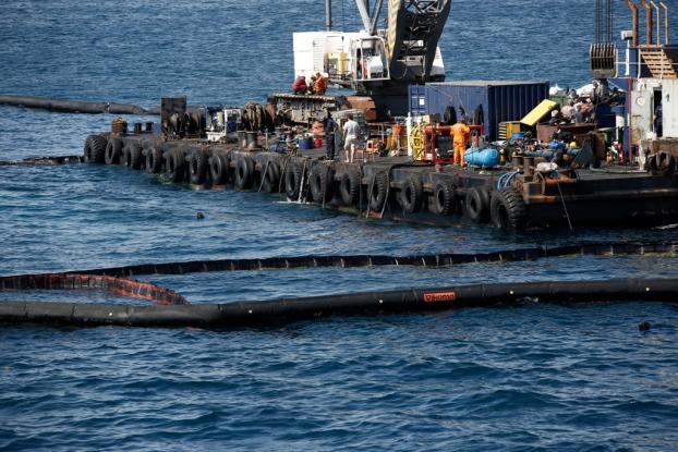 Περίπου 557 κυβικά πετρελαιοειδών έχουν απαντληθεί από το «Αγία Ζώνη ΙΙ»