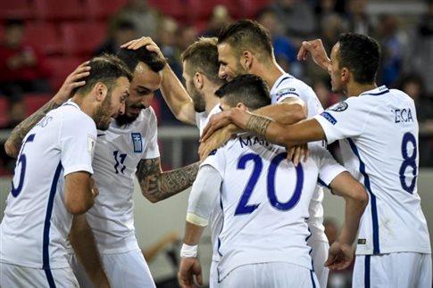 Η Ελλάδα νίκησε το Γιβραλτάρ 4-0 και πέρασε στα μπαράζ (vid)