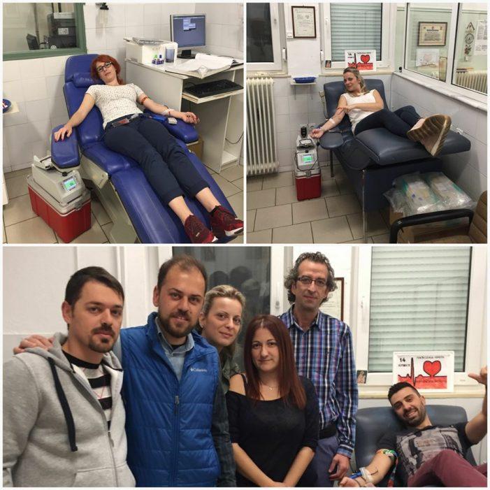 Εθελοντική αιμοδοσία από την ΟΝΝΕΔ Καστοριάς