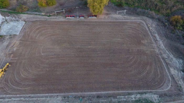 Ξεκίνησαν οι εργασίες ανακατασκευής του βοηθητικού γηπέδου ποδοσφαίρου στο Άργος Ορεστικό (pics)