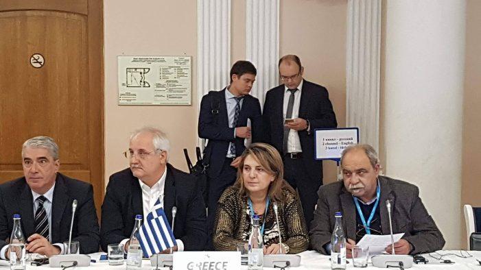 Η Ολυμπία Τελιγιορίδου στην 49η Διακοινοβουλευτική Συνέλευση στη Ρωσία