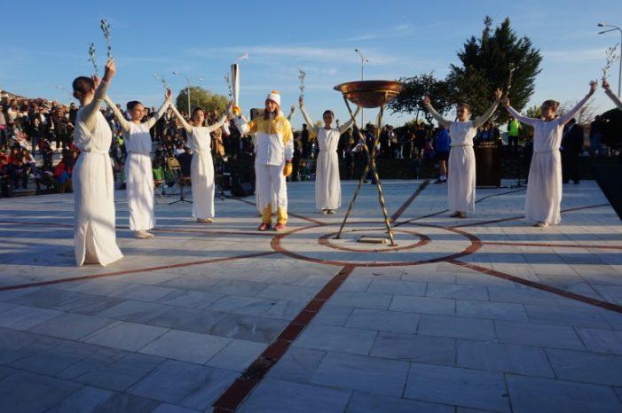 Η Καστοριά υποδέχτηκε την Ολυμπιακή Φλόγα (pics)