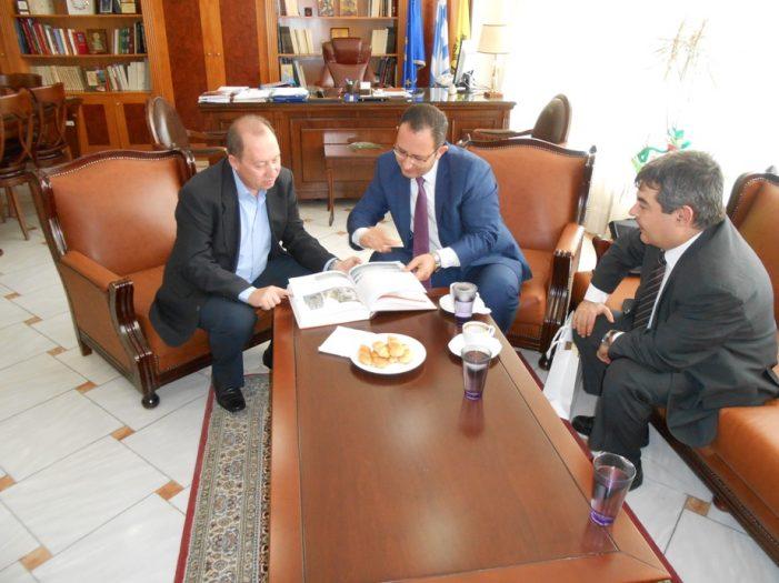 Επίσκεψη του Τούρκου Πρόξενου Ορχάν Γιαλμάν Οκάν στον Αντιπεριφερειάρχη Καστοριάς
