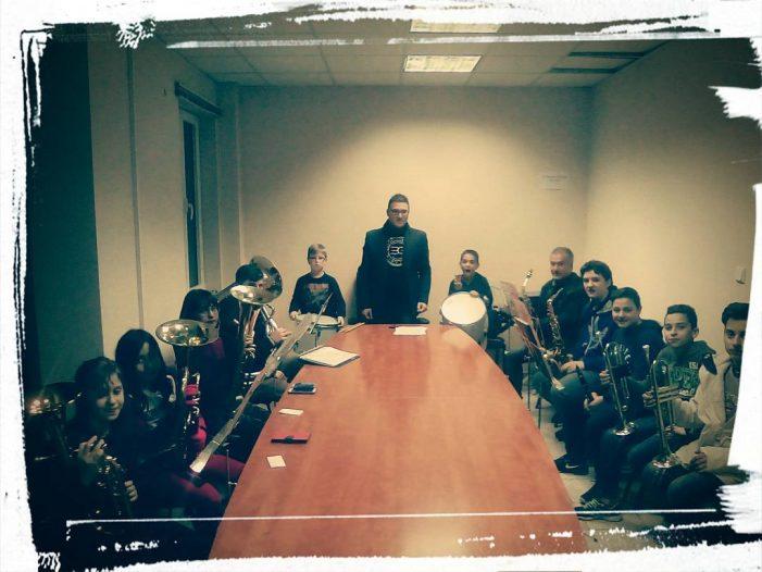 Η πρώτη δοκιμή της Φιλαρμονικής Ορχήστρας του Δήμου Καστοριάς