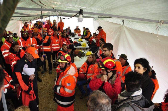 ETAK Καστοριάς: Εκπαίδευση εθελοντών διασωστών από πολλές περιοχές της Ελλάδας