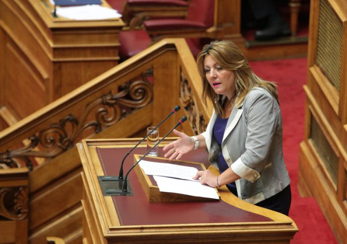 Επανέρχεται η Μαρία Αντωνίου με νέα Ερώτηση για το Αστυνομικό Μέγαρο Καστοριάς