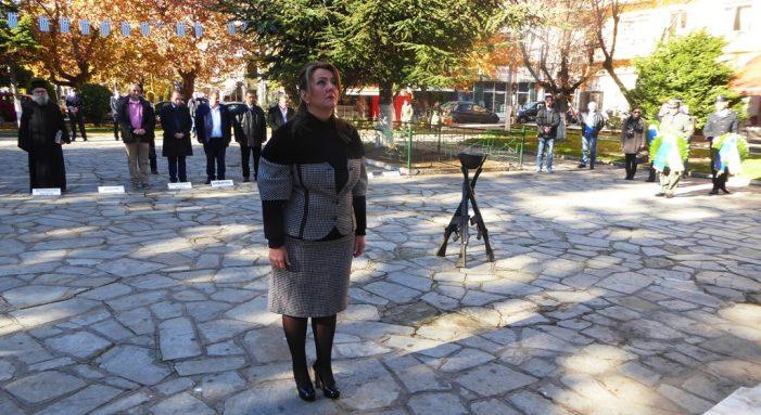 Η Μαρία Αντωνίου στις εορταστικές εκδηλώσεις για την Ημέρα των Ενόπλων Δυνάμεων