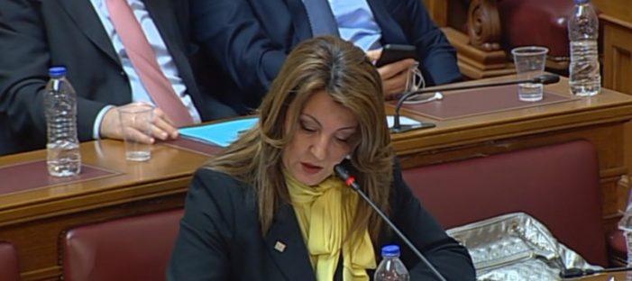 Η τοποθέτηση της Μαρίας Αντωνίου σε Επιτροπή της Βουλής για την παραγωγή του Φαρμάκου στην Ελλάδα ως πεδίο Έρευνας και Καινοτομίας