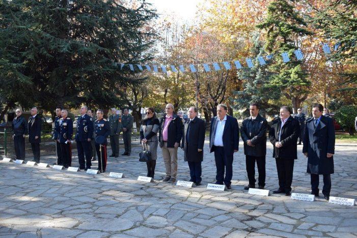 Με λαμπρότητα οι επετειακές εκδηλώσεις για την Ημέρα των Ενόπλων Δυνάμεων
