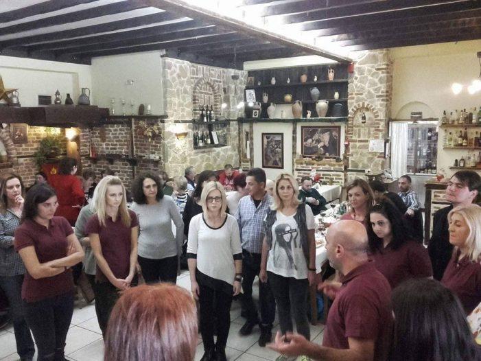 Συνάντηση ΕΛΠΧ ΟΡΜΟΣ με χορευτικό Χαλάστρας