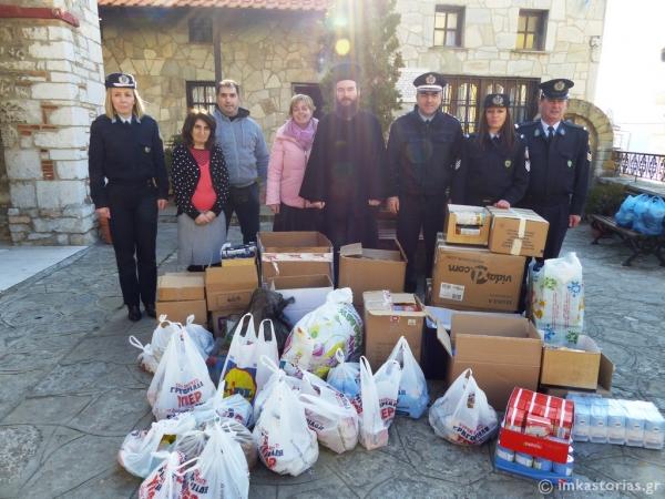 Το μήνυμα της αγάπης και της αλληλεγγύης έστειλε η Αστυνομία Καστοριάς (ΦΩΤΟ)