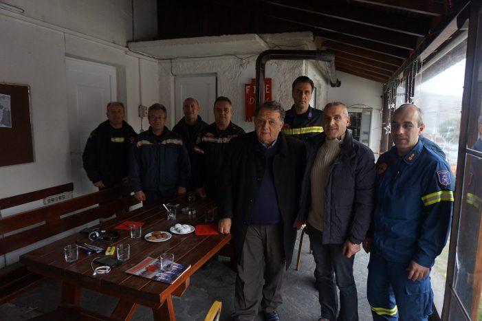 Επισκέψεις του δημάρχου Καστοριάς ενόψει των εορτών
