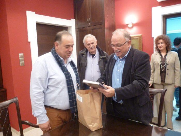 Στον Δήμαρχο Άργους Ορεστικού ο Αντιπρόεδρος του Ευρωπαϊκού Κοινοβουλίου Δημήτρης Παπαδημούλης